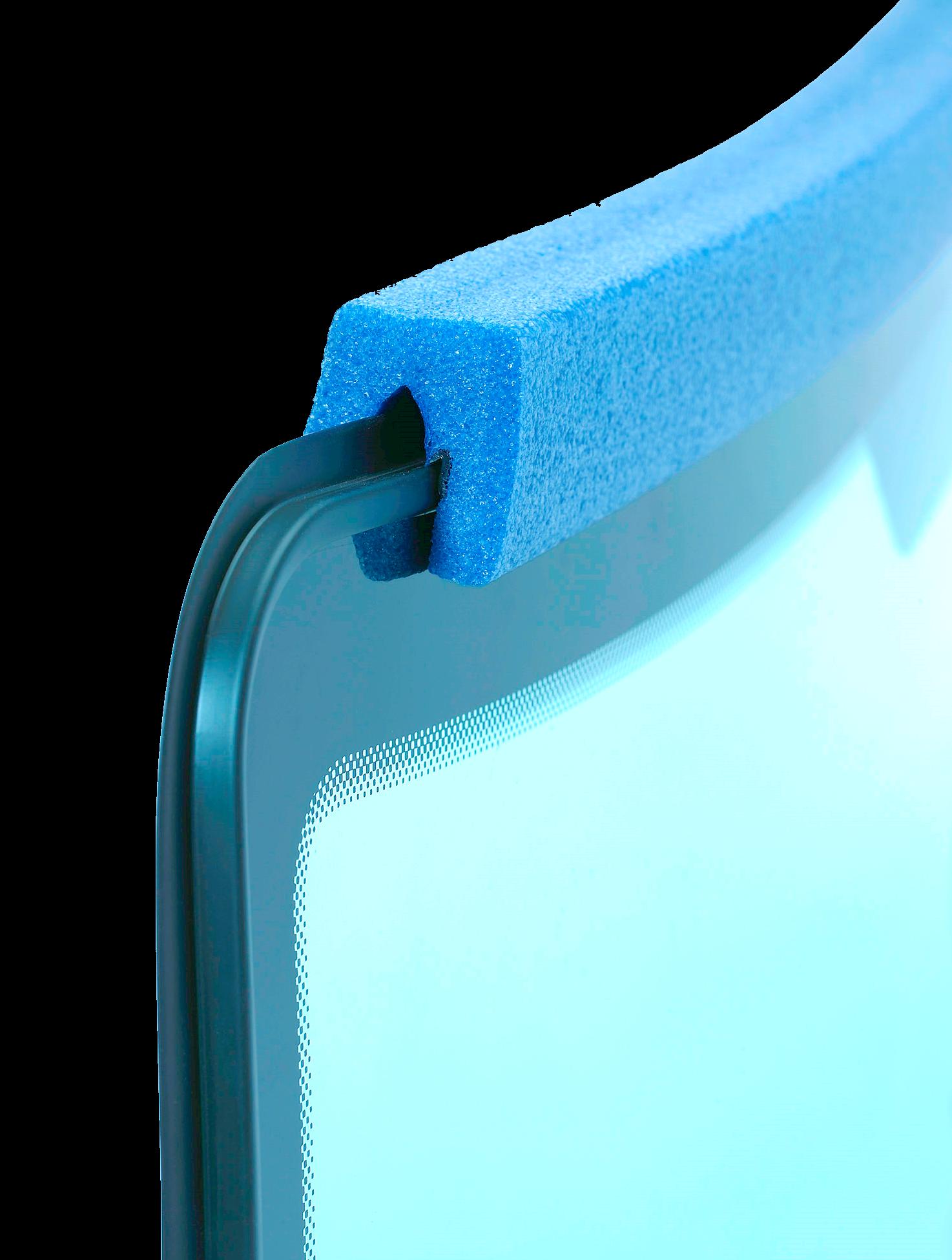 Scheibenschutz - Kanten sicher schützen mit NMC Nomapack Schaumprofilen