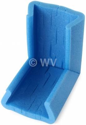 NOMAPACK_3002179_U-Eck-STRETCH-Schaumprofil_blau_Typ_100-120_120x21x100-140mm