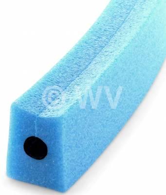 NOMAPACK_3002273_U-Schaumprofil_blau_10mmx25mmx6mm_6540061 mit Innenloch Verstärkung
