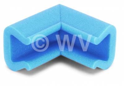 NOMAPACK_3002170_U-Eck-Schaumprofil_Kantenschutz_blau_41mmx35mmx25mm